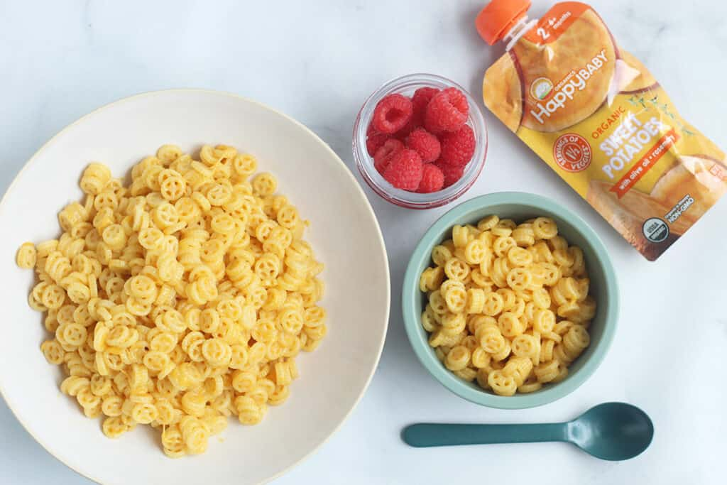 sweet-potato-mac-and-cheese-on-counter