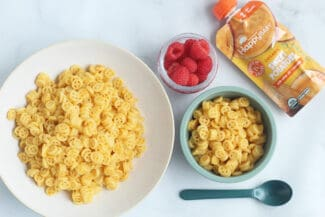Easy Sweet Potato Mac and Cheese