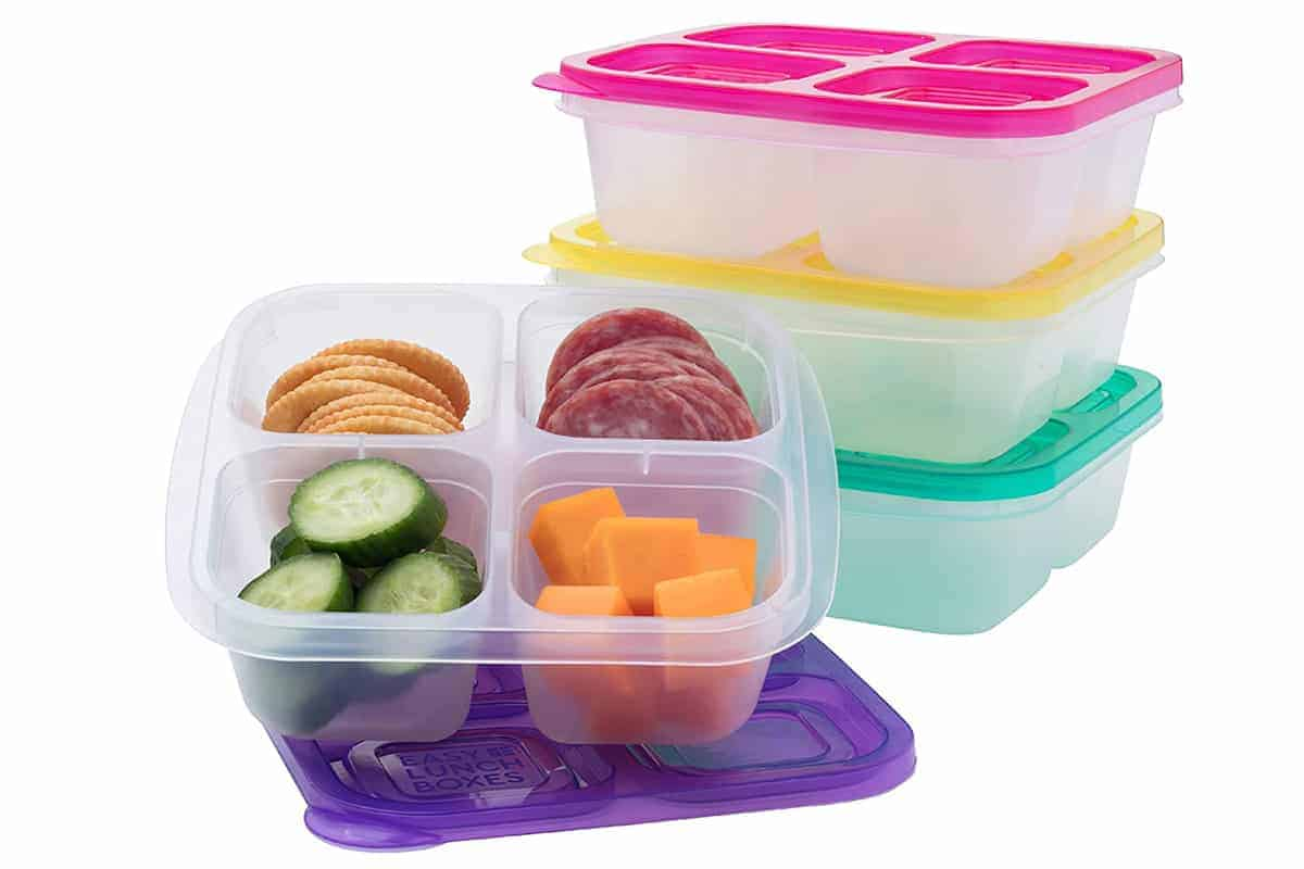 easy lunchboxes snack containers