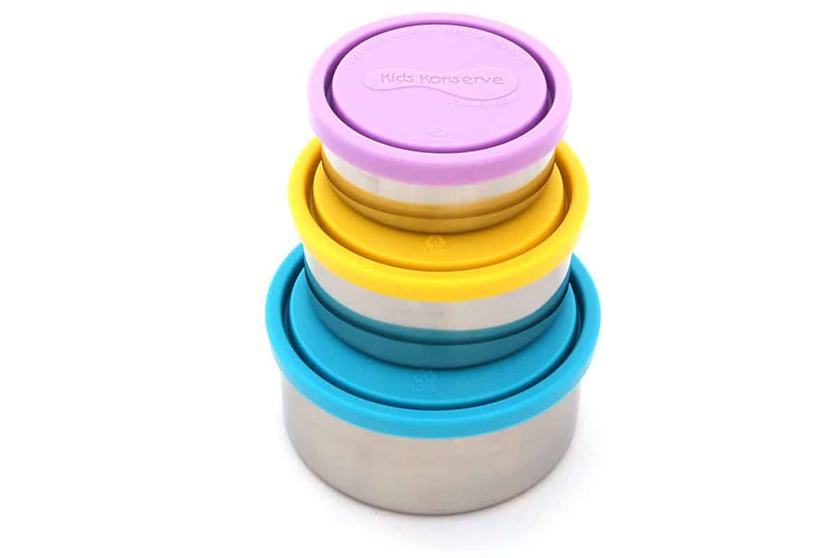 Kids Konserve nesting containers