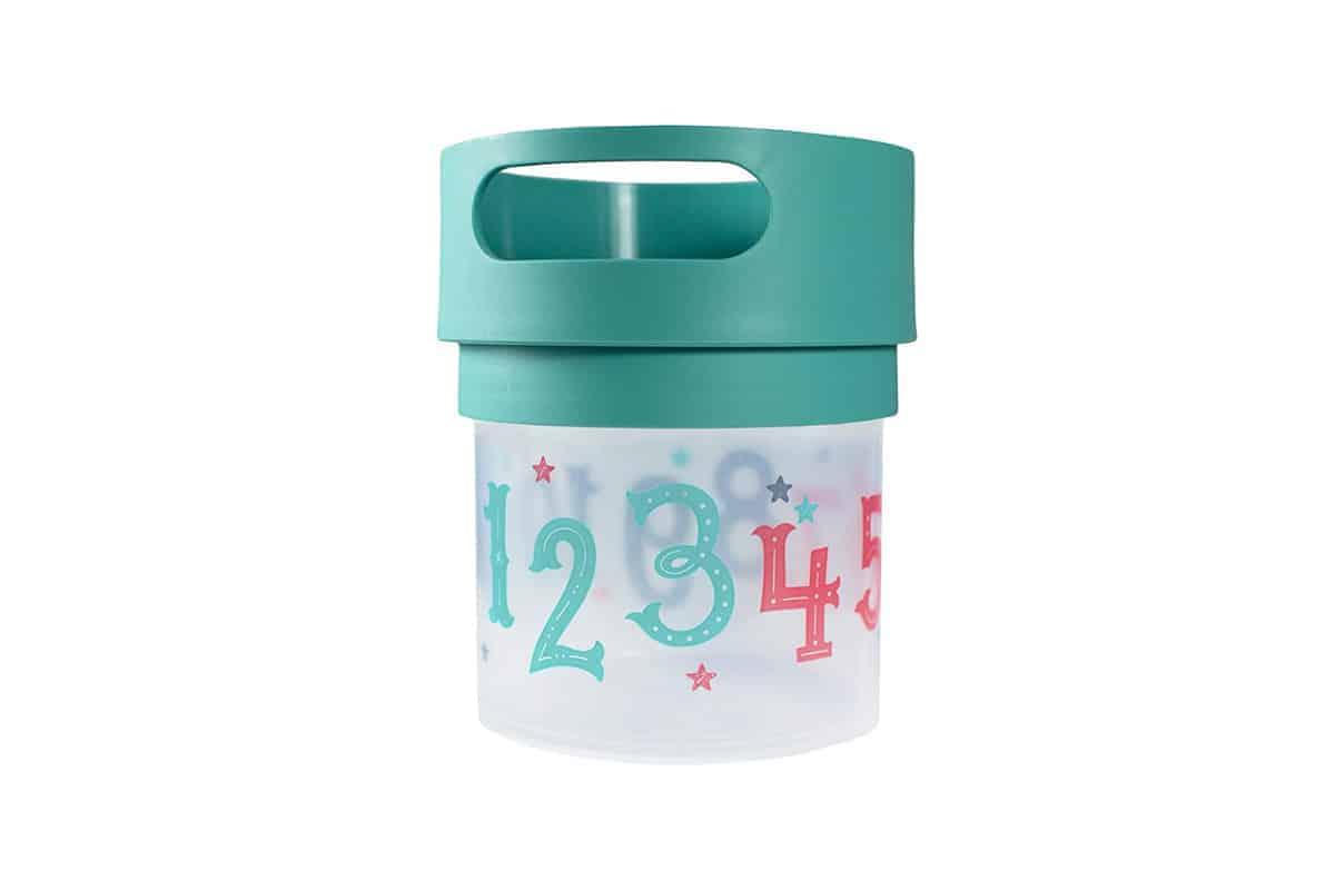 Munchie Mug Snack cup in teal