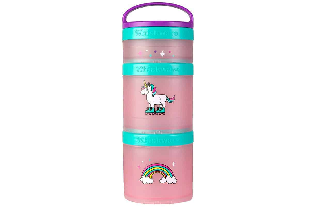 Whiskware Snack Container in unicorn