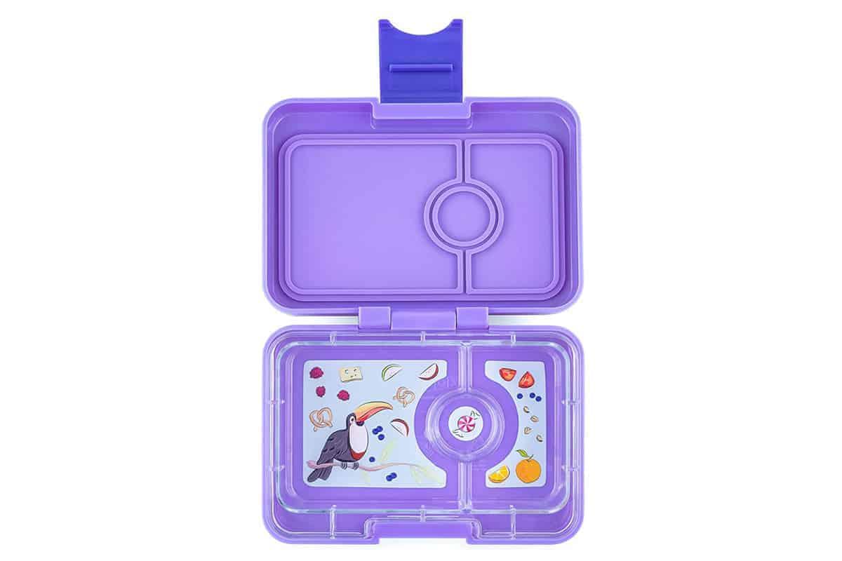 Yumbox mini Snack Box in purple