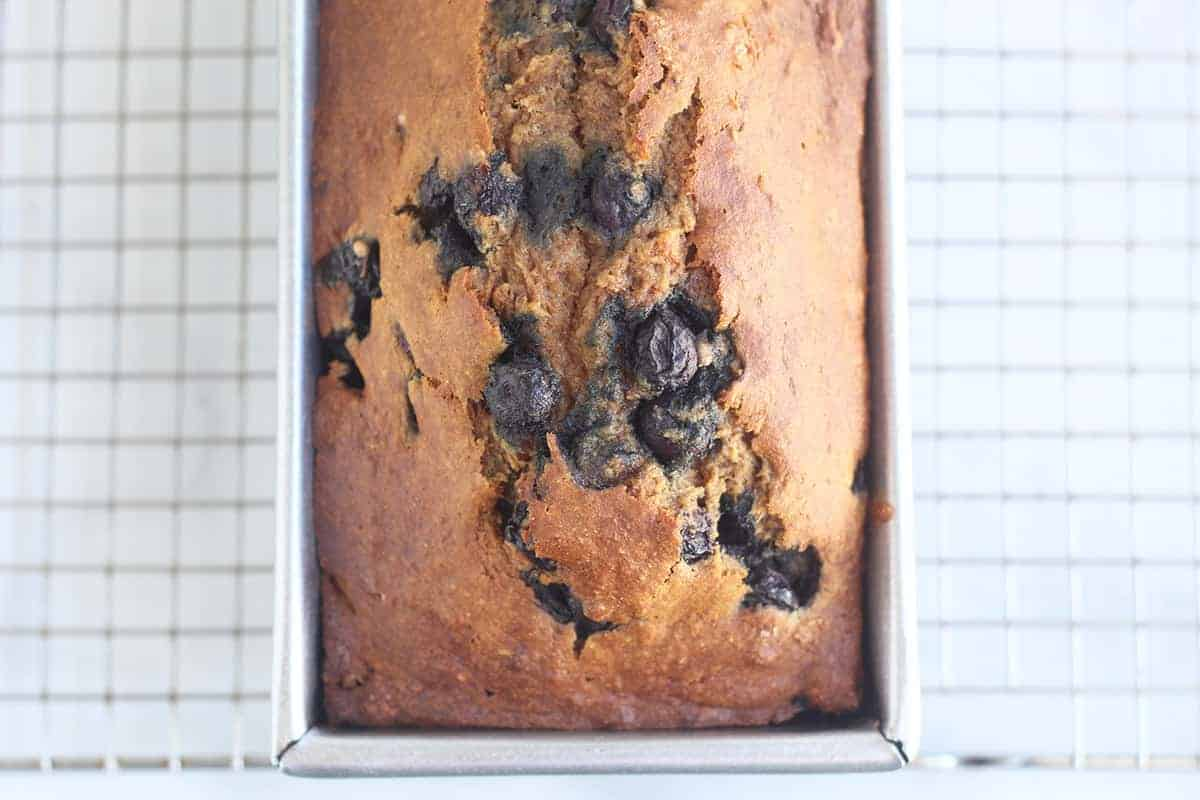 blueberry-banana-bread-in-pan