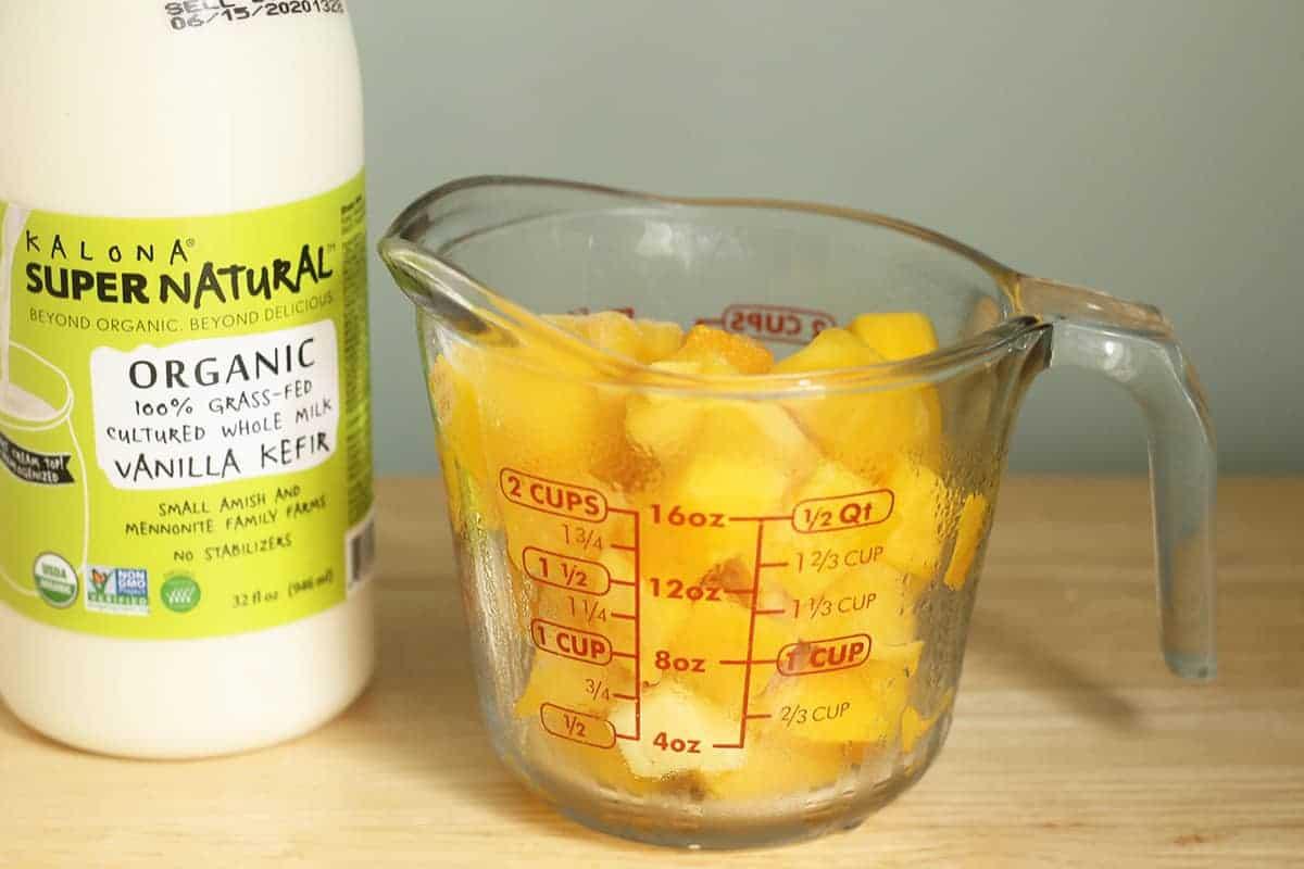ingredients in mango popsicles