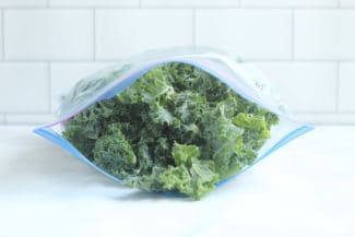 How to Freeze Kale (and Greens)