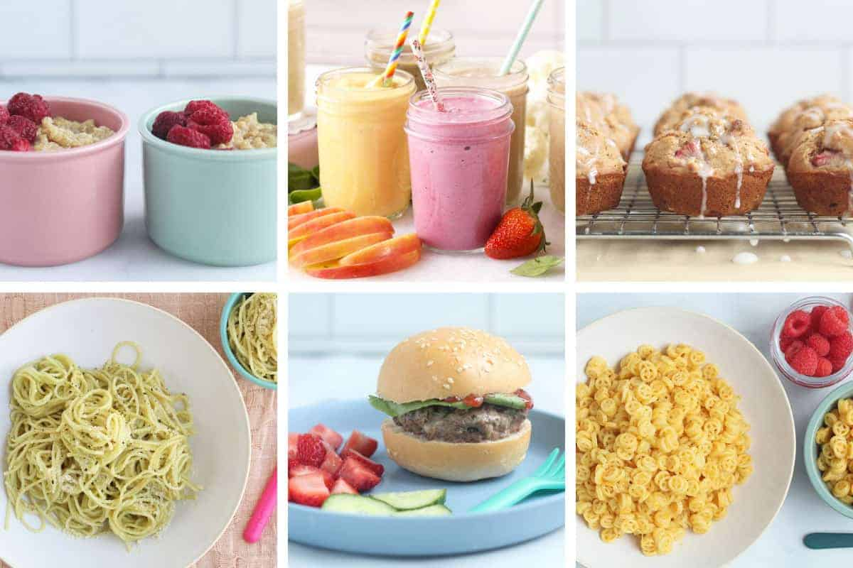 may meal plan in grid of 6