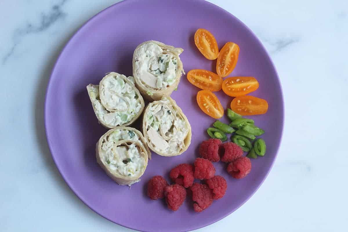 chicken-salad-wrap-on-purple-kids-plate