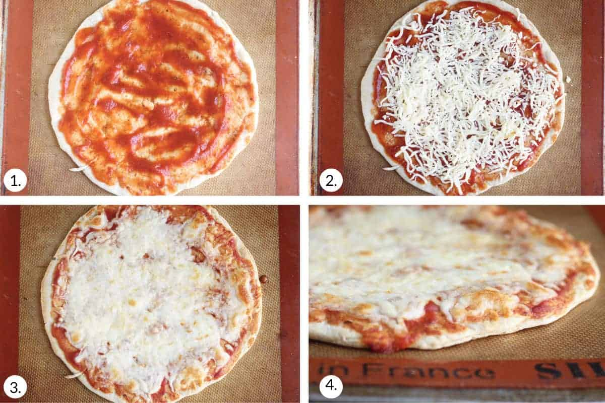 how to make flatbread pizza step by step