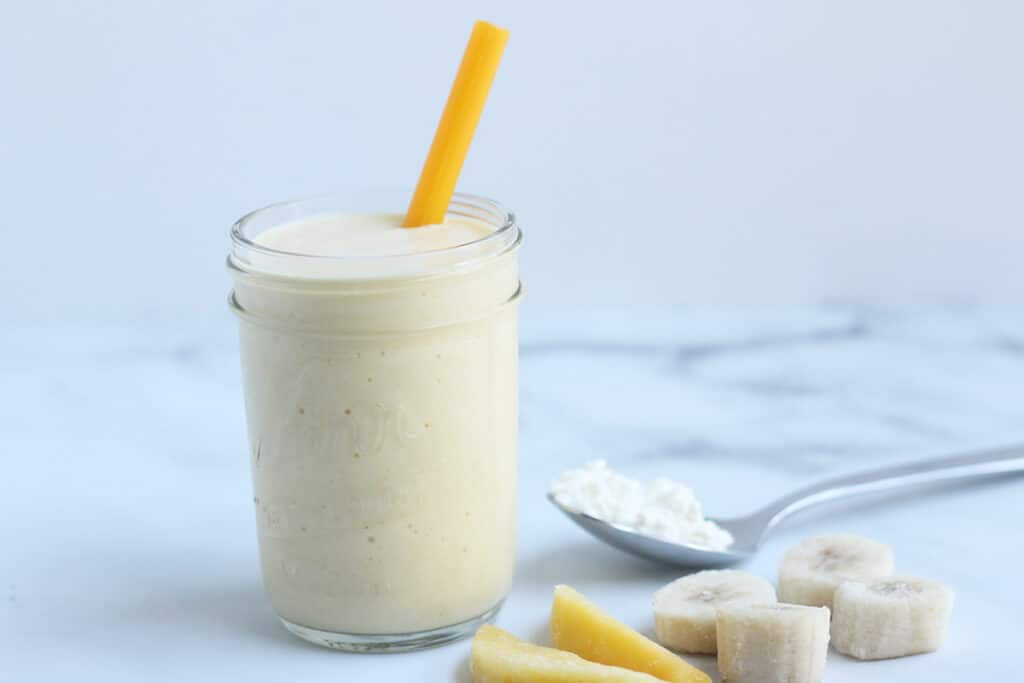 peach-cottage-cheese-smoothie-with-straw