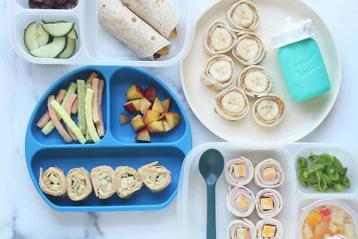 wraps-for-kids-on-plates-on-countertop