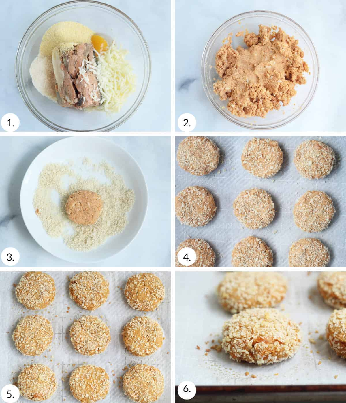 how to make salmon patties step by step process