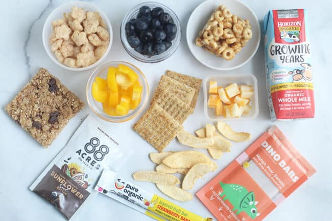 lunch-snacks-on-countertop
