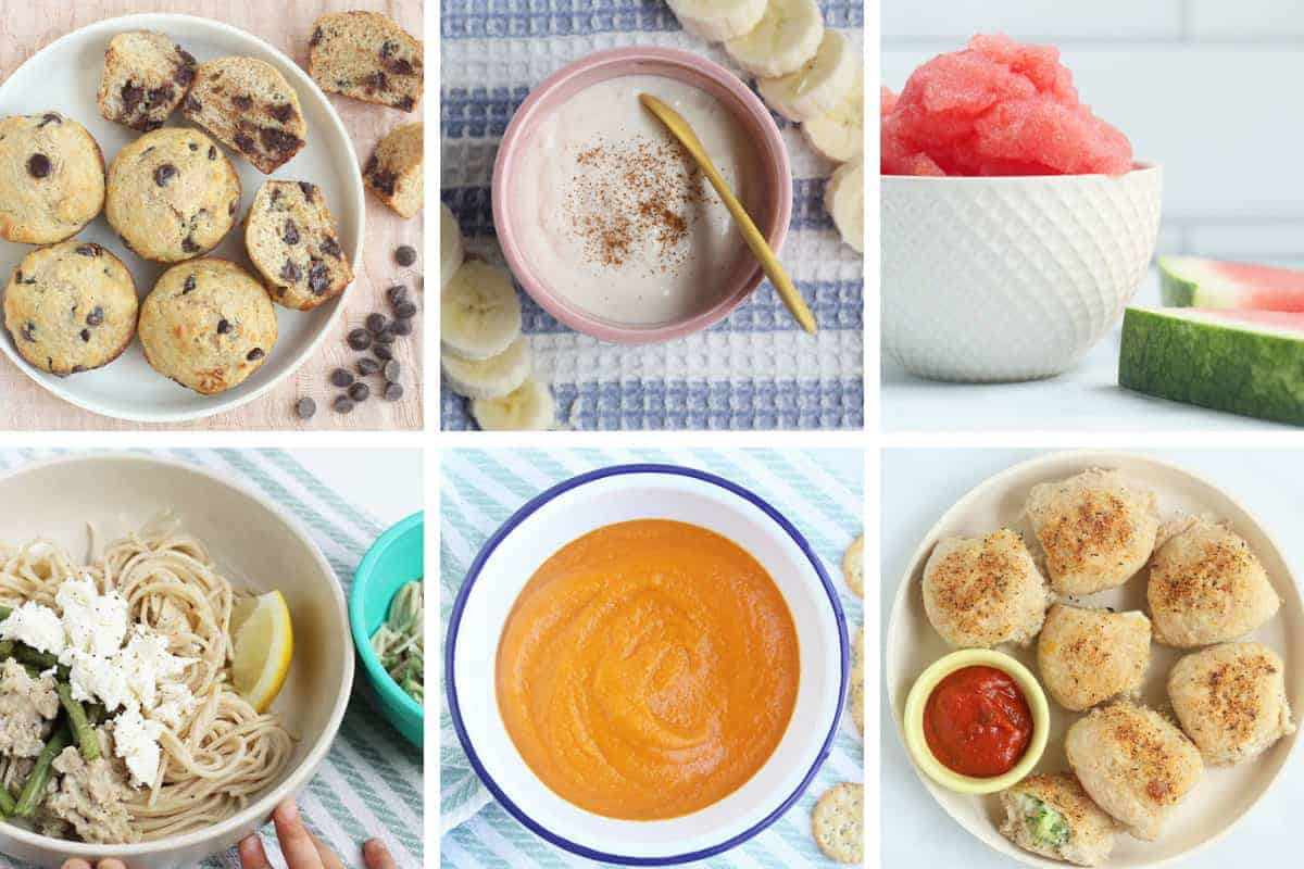 August meal plan week 3 in grid of 6