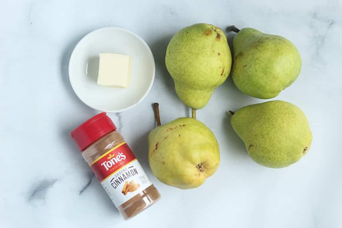 ingredients in cinnamon pears