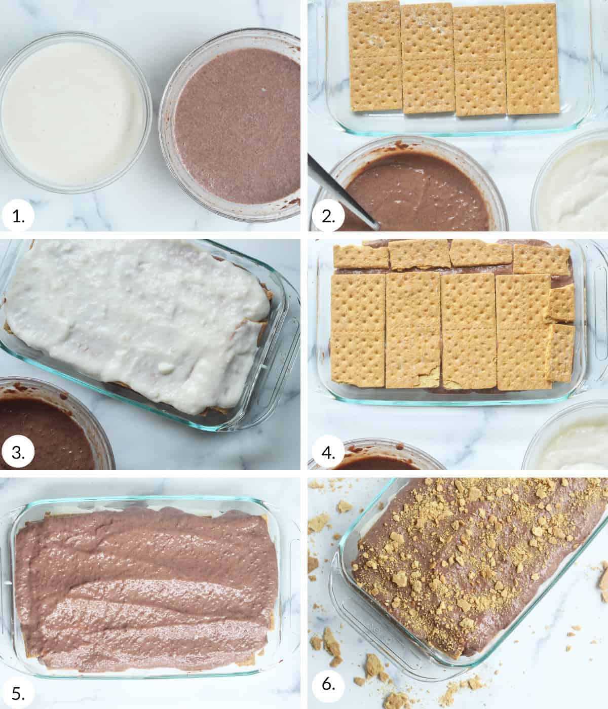 how to make ice box cake step by step