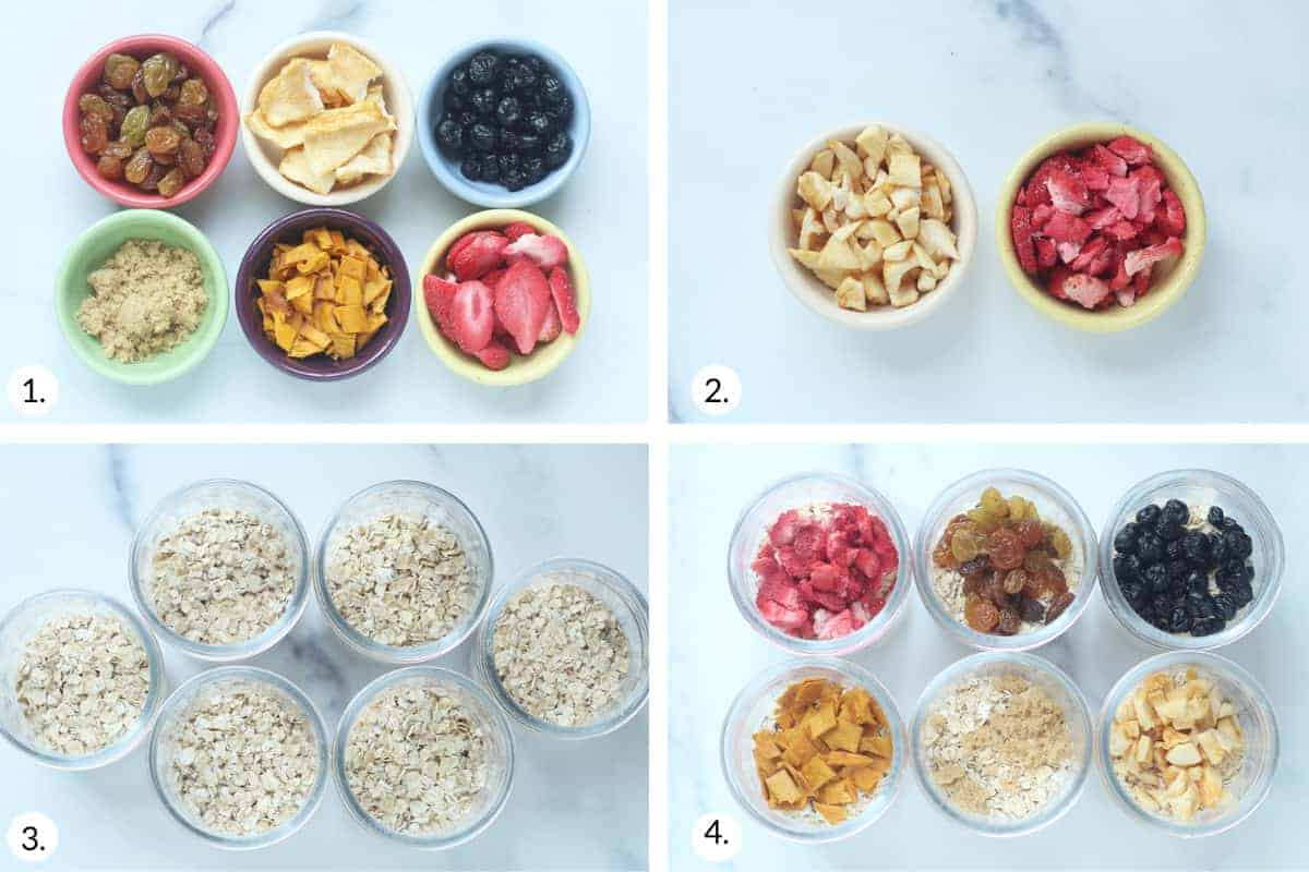 how to make instant oatmeal step by step