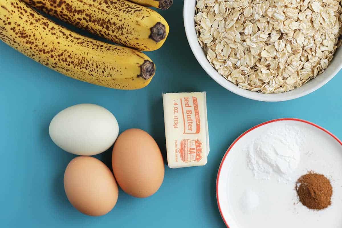 ingredients in banana cake