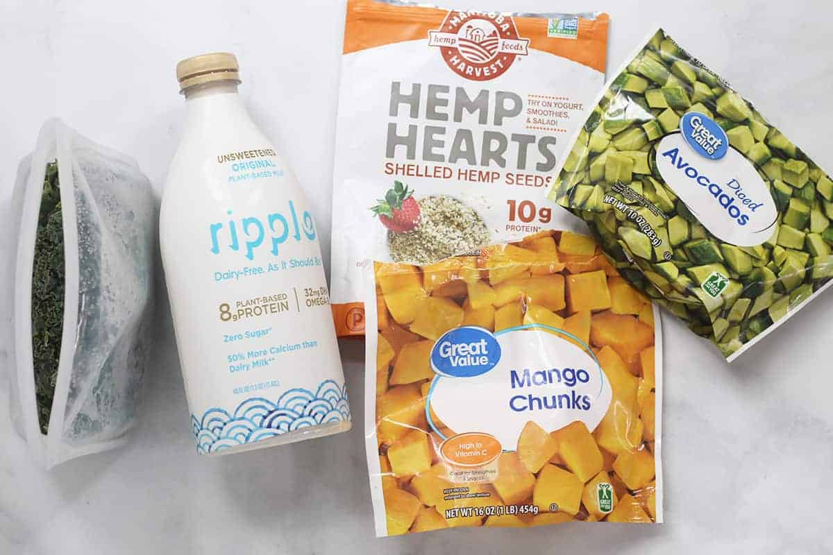 ingredients in pregnancy smoothie