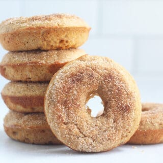 stack-of-baked-apple-donuts