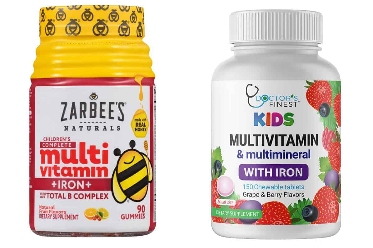 toddler vitamins with iron