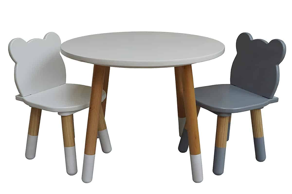 stepup baby bear chairs and table