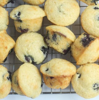 blueberry-mini-muffins-on-cooling-rack