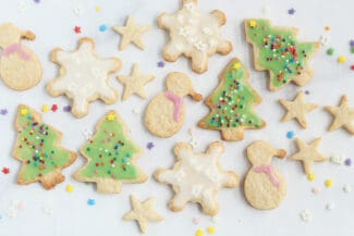 christmas-cookie-cut-outs-on-counter