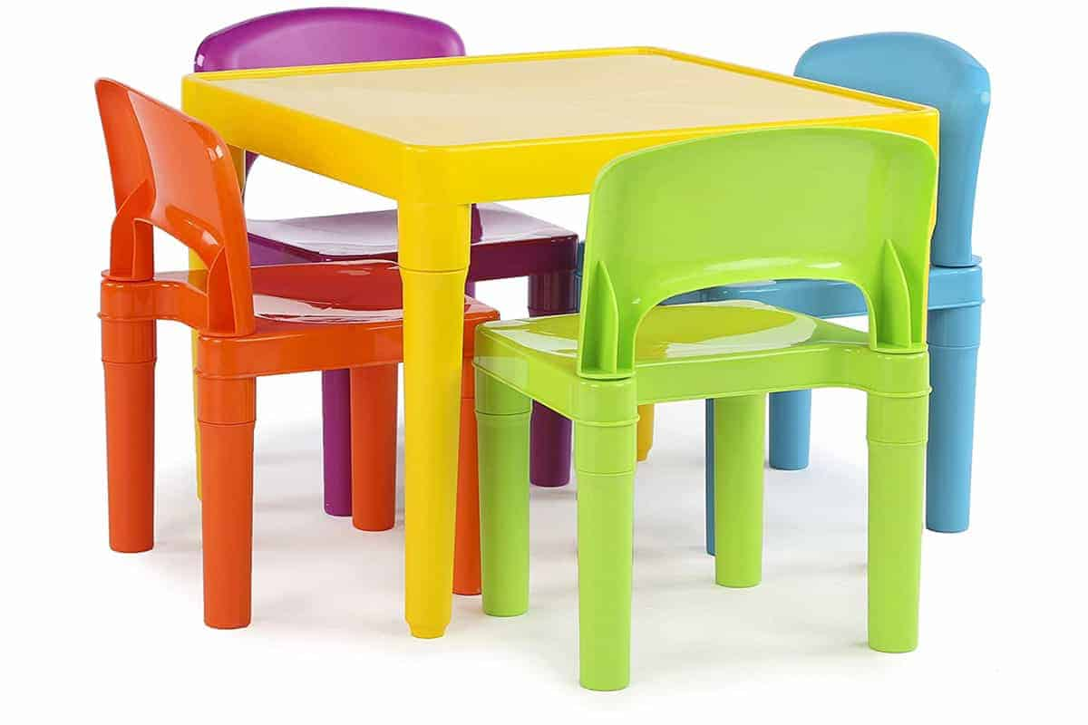 Humble Crew Kids Plastic table and chairs
