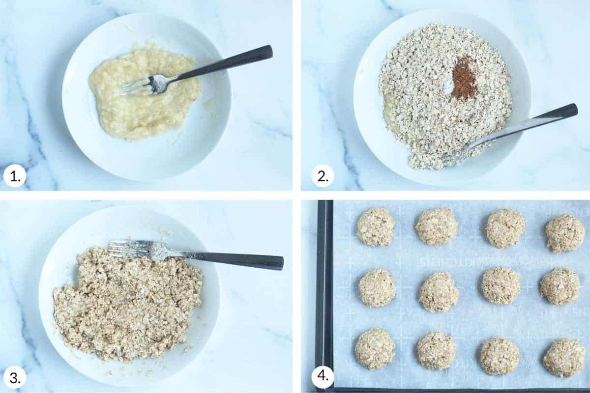 how to make baby cookies step by step