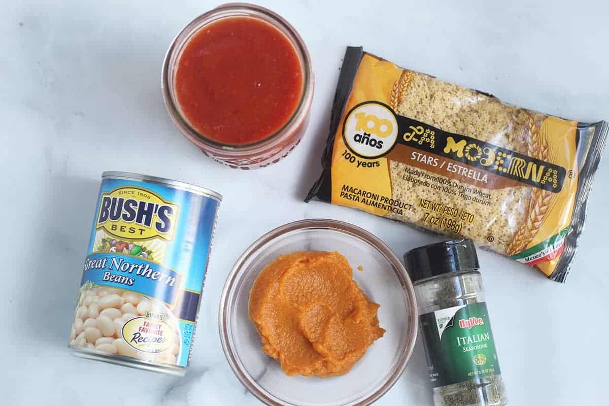 ingredients in baby pasta