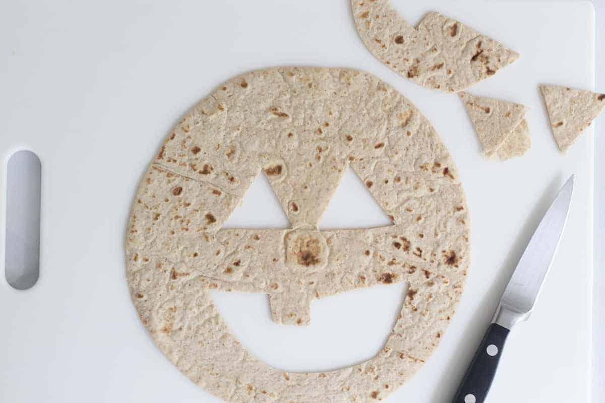 pumpkin quesadilla step 1
