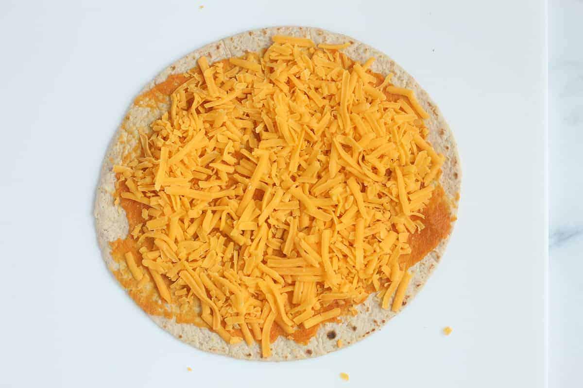 pumpkin quesadilla step 2